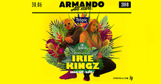 Fiesta con IRIE KINGZ en Armando All Stars