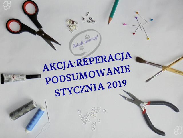 Akcja Reperacja u Adzika - Podsumowanie styczeń 2019