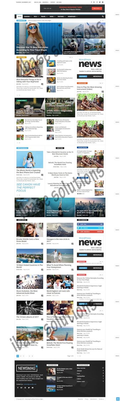Newspaper  News Magazine