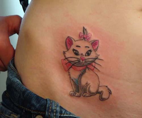 kedi dövmeleri cat tattoos 7