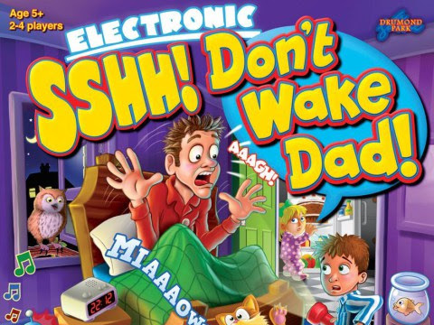 Sshh! Don't Wake Dad Electronic Board Game Review