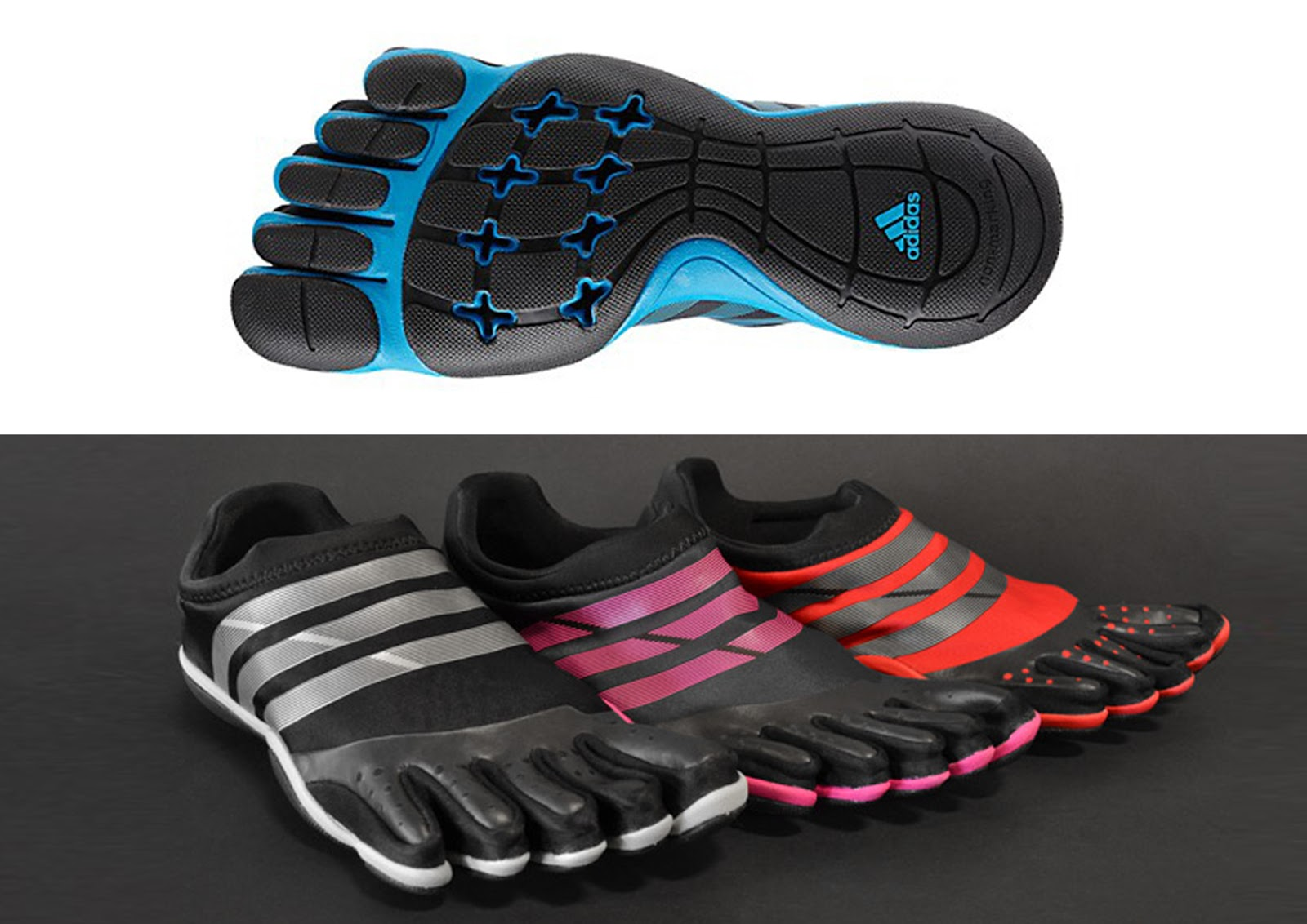 adidas 5 finger shoes