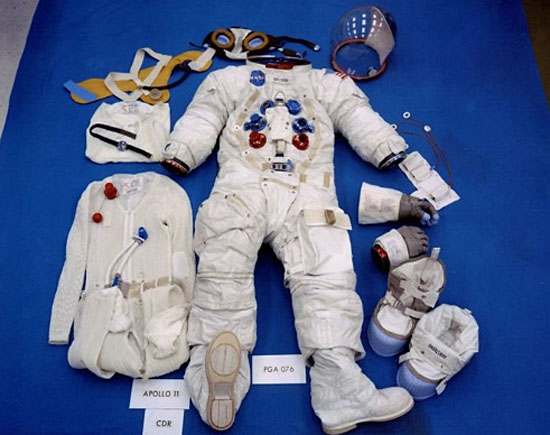 Traje Astronautas missaõ Apollo 11
