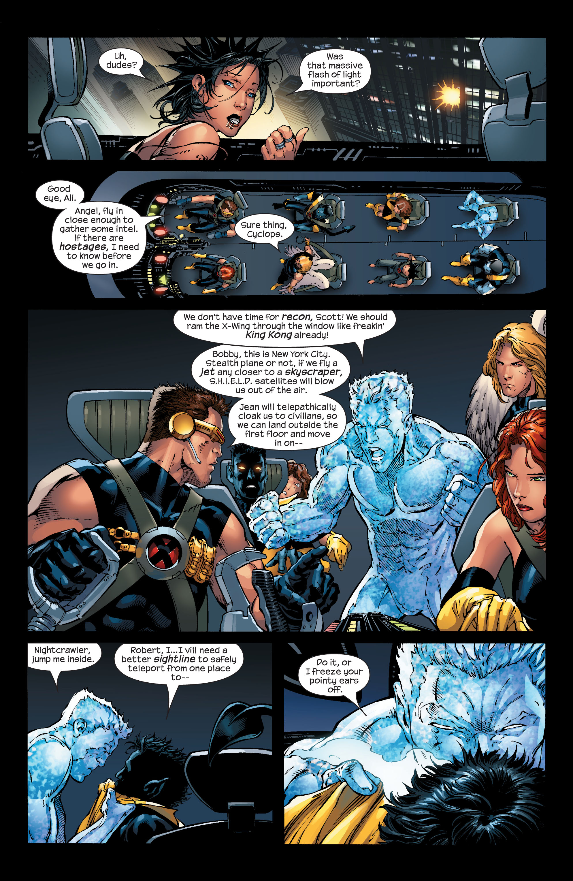 Read online Ultimate X-Men comic -  Issue #53 - 9