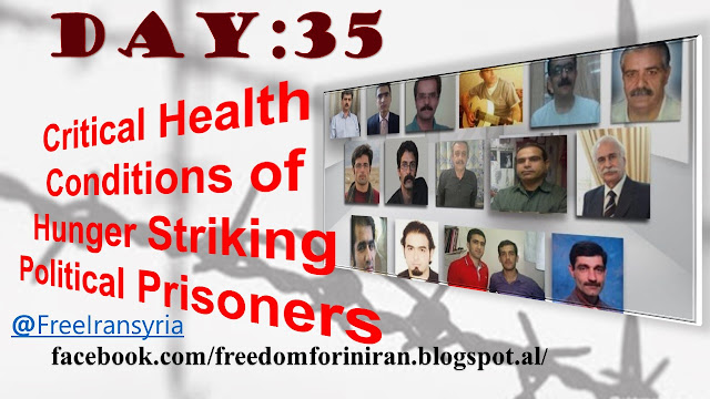 Critical Health Conditions of Hunger Striking Political Prisoners