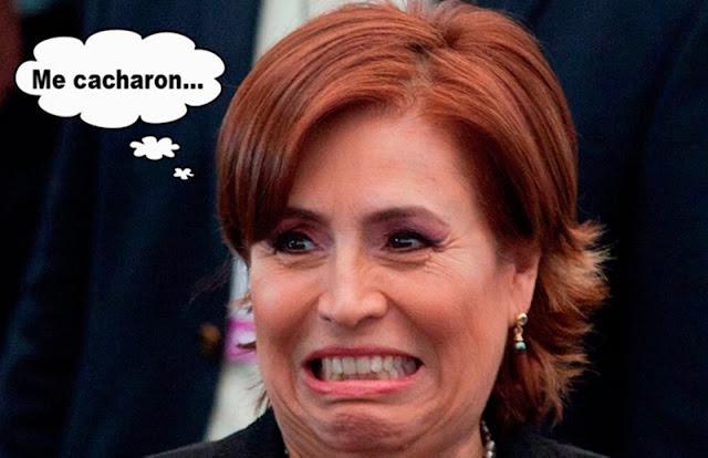 ¿Qué si le depositan a Rosario Robles? Ella se los entregará a los damnificados..