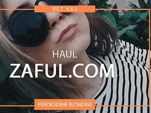 ZAFUL.COM HAUL