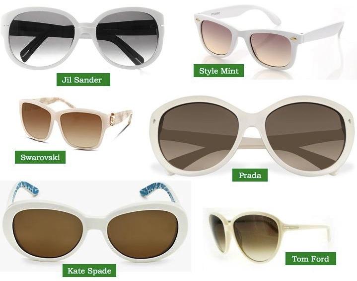 e35f250c037 Southland Avenue  White Sunglasses