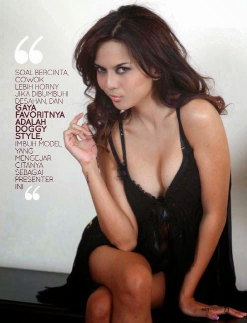 Hot Pictures Anggita Sari on Gress Magazine