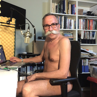 Stéphane Deschênes host of the Naturist Living Show