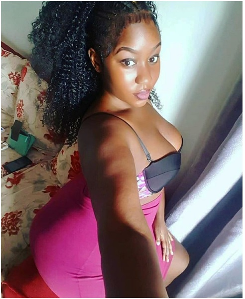 7 - Yummy PHOTOs of Kenyan beauty, AURA GOLD, her heavy bust is giving men goosebumps, See the melons.