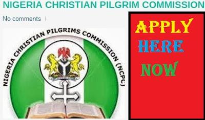 2018/2019 NCPC Recruitment Portal - Application Registration & Login