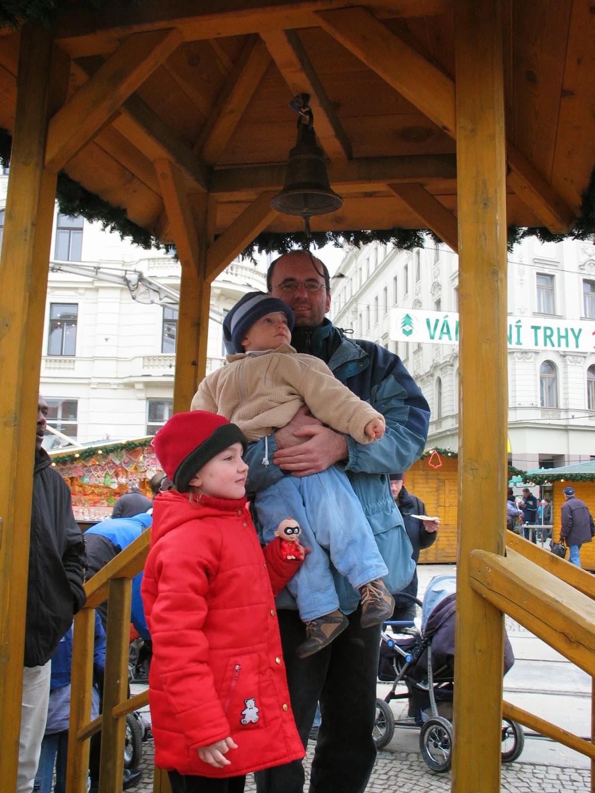 Rodinný výlet do Brna
