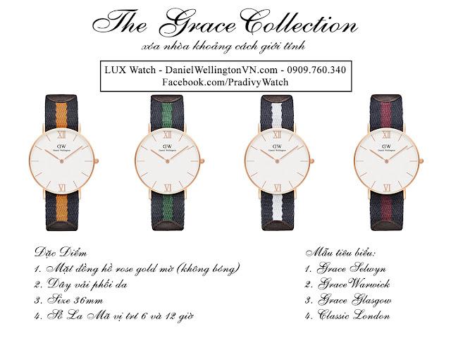 Các mẫu tiêu biểu của DW Grace