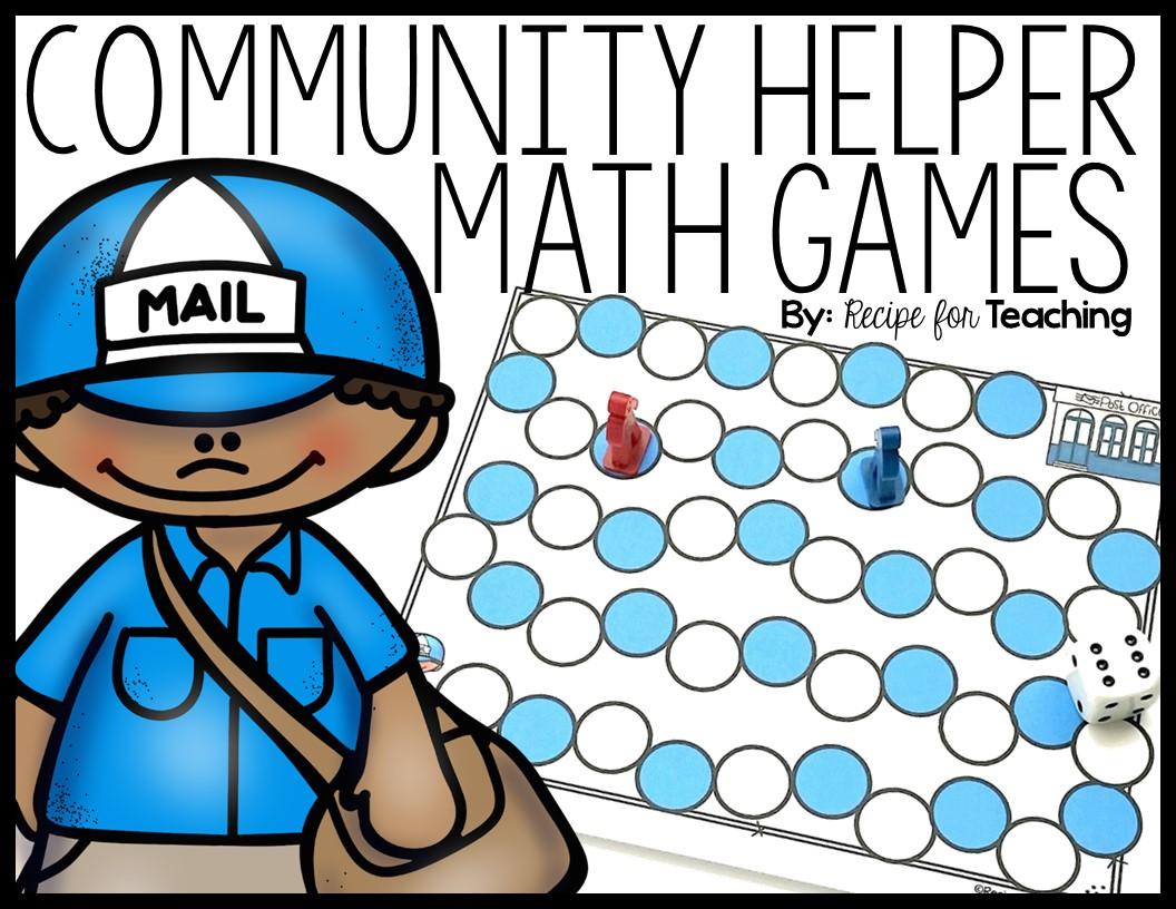 Community Helper Math Games