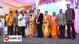 Actress Jayachitra Son Amresh Ganesh Wedding Reception