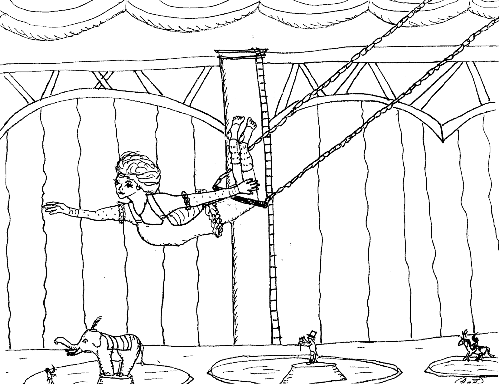 Robin's Great Coloring Pages: The Greatest Showman circus ...