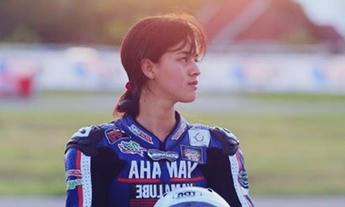 Biodata Sabrina Sameh Si Joki Drag Bike Cantik Dari Bandung
