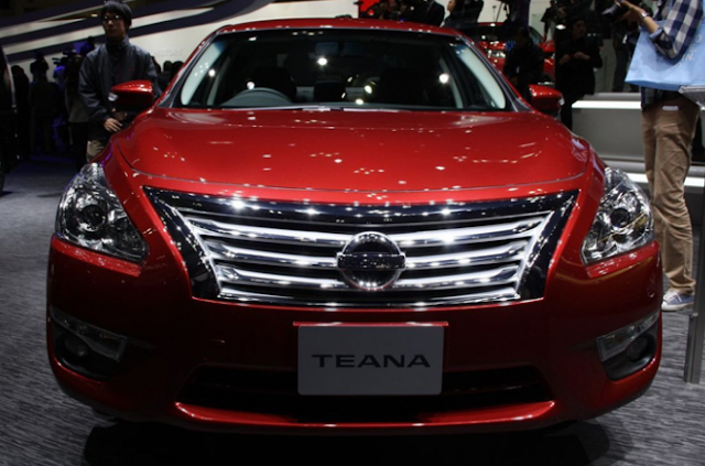 2018 Nissan Teana Design