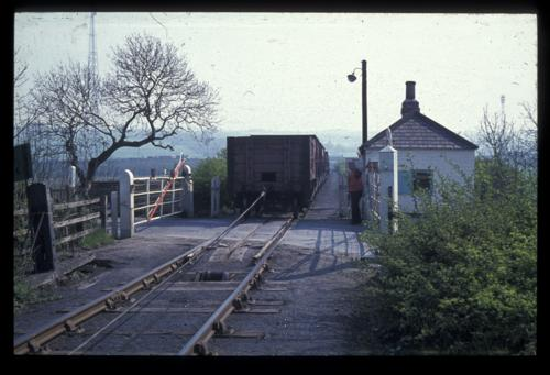 Kibblesworth Crossing on the Bowes Railway 1974 Srafford Linsley Newcastle University