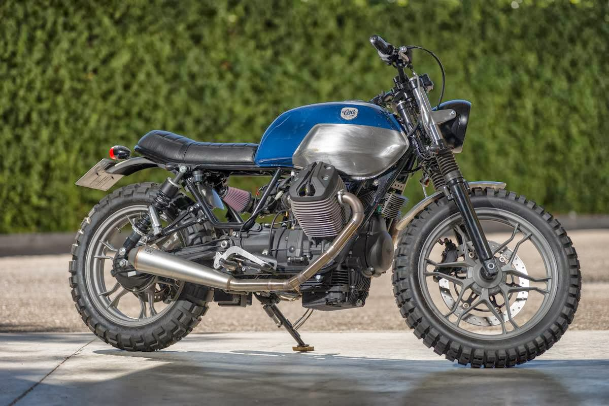 Racing Cafè: Moto Guzzi V7 CRD #35 by Cafè Racer Dreams