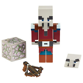 Minecraft Pillager Survival Mode Figure