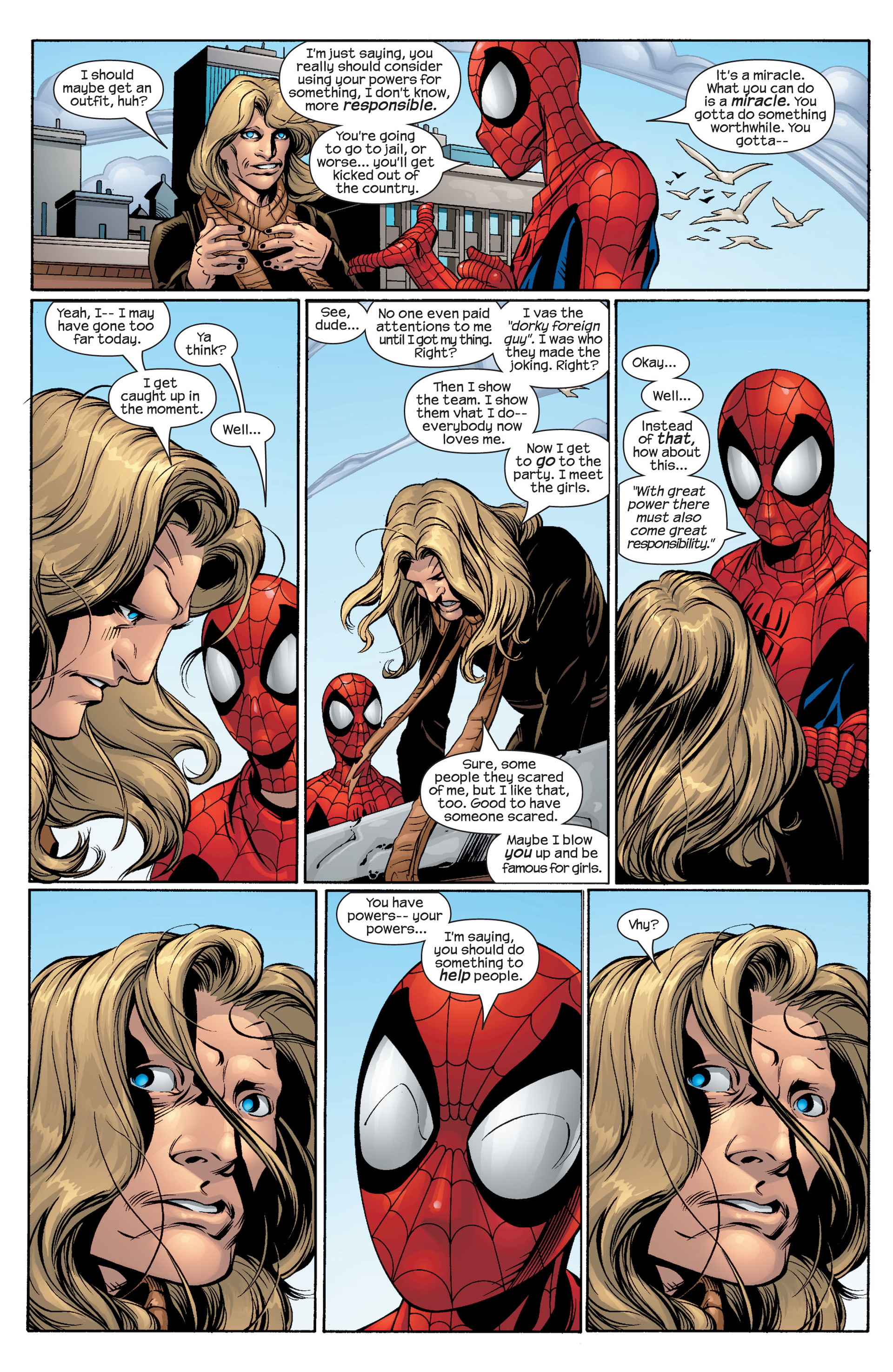Read online Ultimate Spider-Man (2000) comic -  Issue #42 - 14