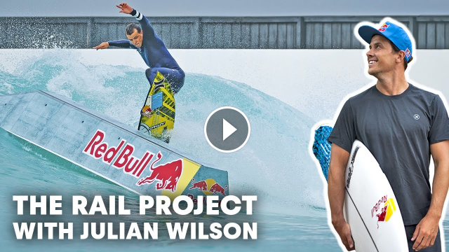 Julian Wilson Mixes Surf And Skate At Melbourne s URBNSURF Wave Pool