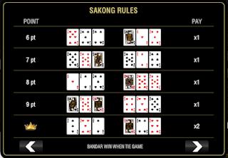 Cara bermain Sakong Casino Online Indonesia