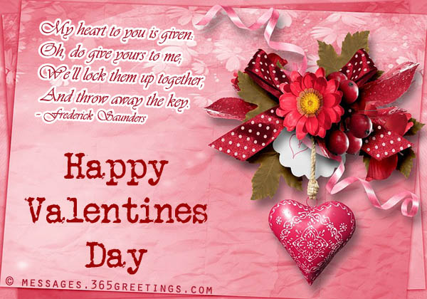 Special Happy Valentine\'s Day 2017 Romantic Messages for Wife ...