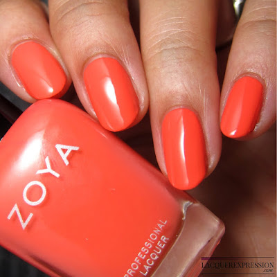 nail polish swatch and review of Zoya Cora from the summer 2017 Wanderlust collection
