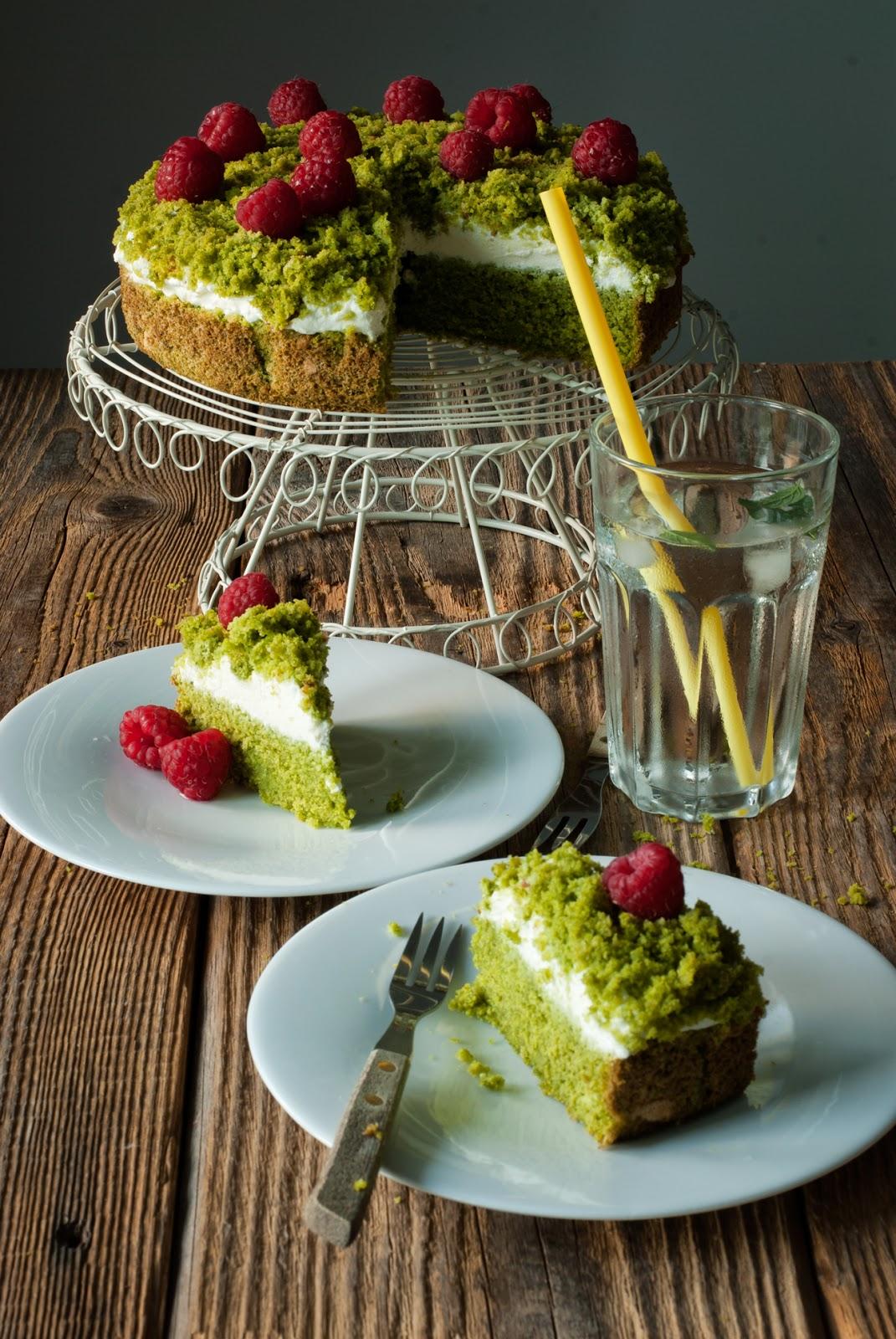 Zielone ciasto ze szpinakiem bezglutenowe