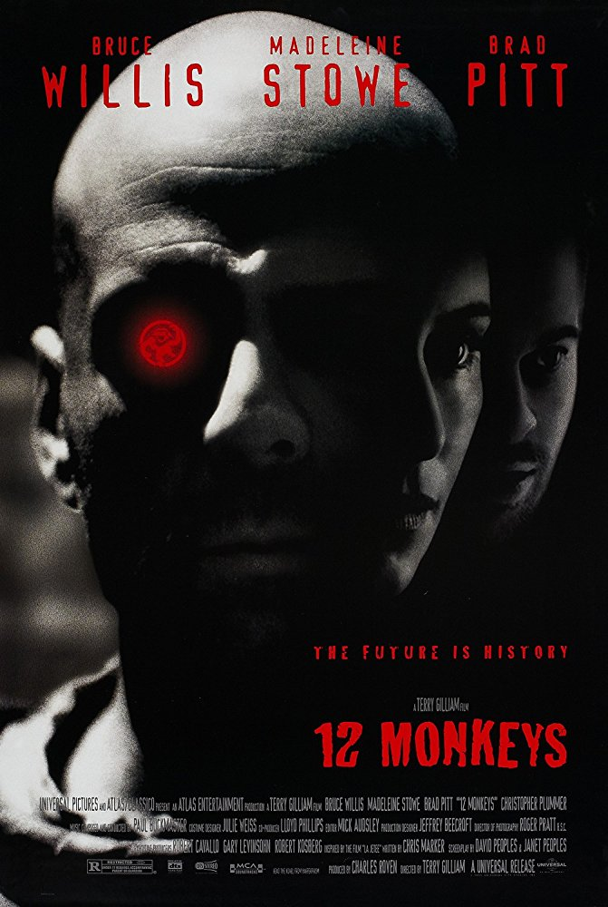 Twelve Monkeys 1995 English Movie Bluray 720p