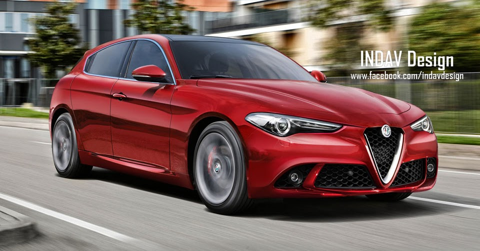 New Giulietta 2019 >> Future Alfa Romeo Giulietta Gets Giulia-Inspired Styling