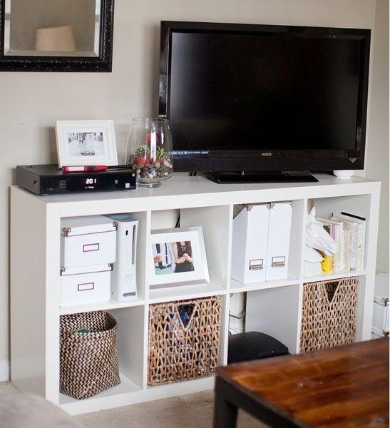 Ikea Tv Meubel Op Wieltjes.Interieur Kallax Kast Irispirationlife