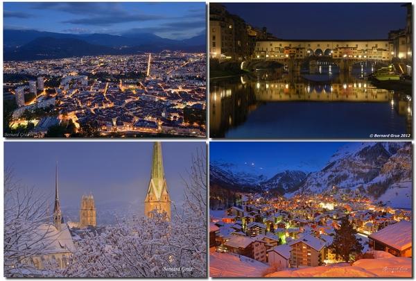 Bernard Grua, heure bleue, Grenoble, Florence, Zurich