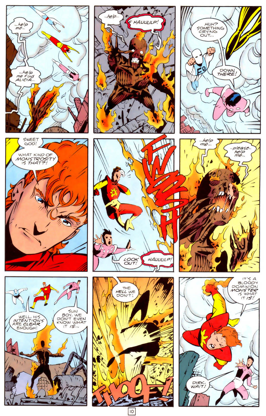 Legion of Super-Heroes (1989) 35 Page 10