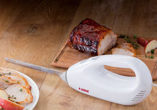 Judge Electric Carving Knife cutting gammon