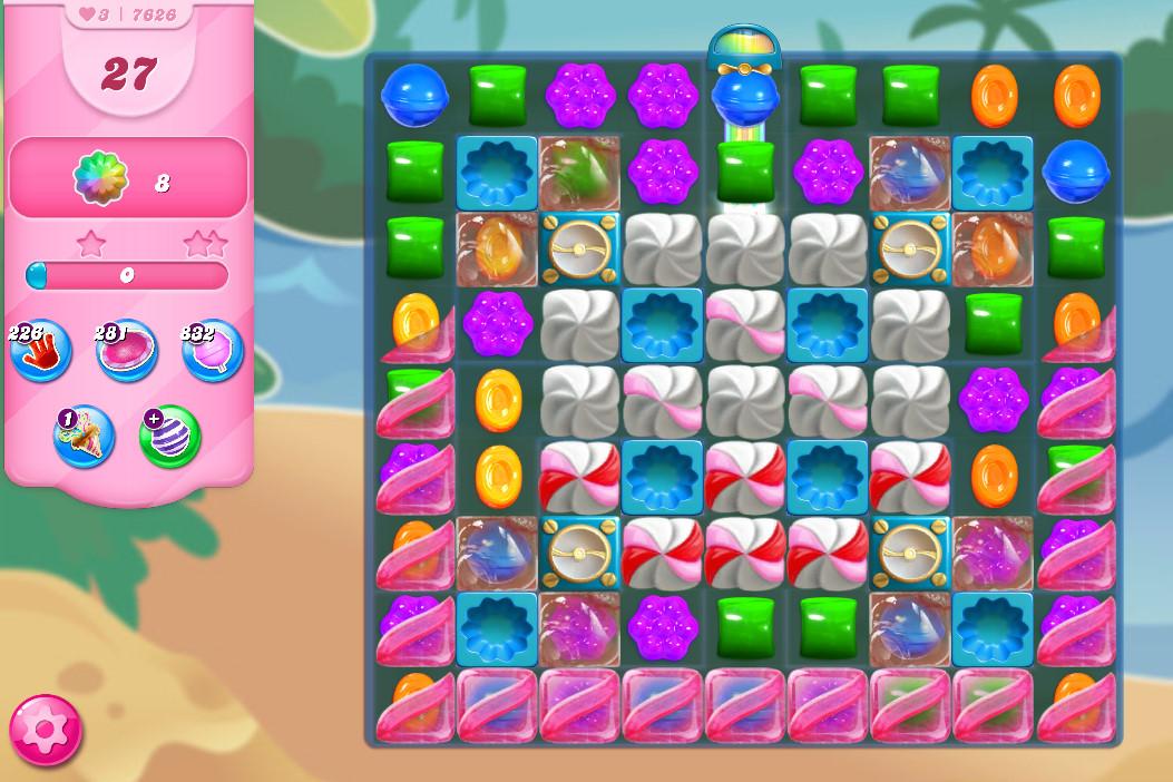 Candy Crush Saga level 7626