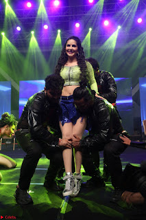 Sunny Leone Dancing on stage At Rogue Movie Audio Music Launch ~  116.JPG