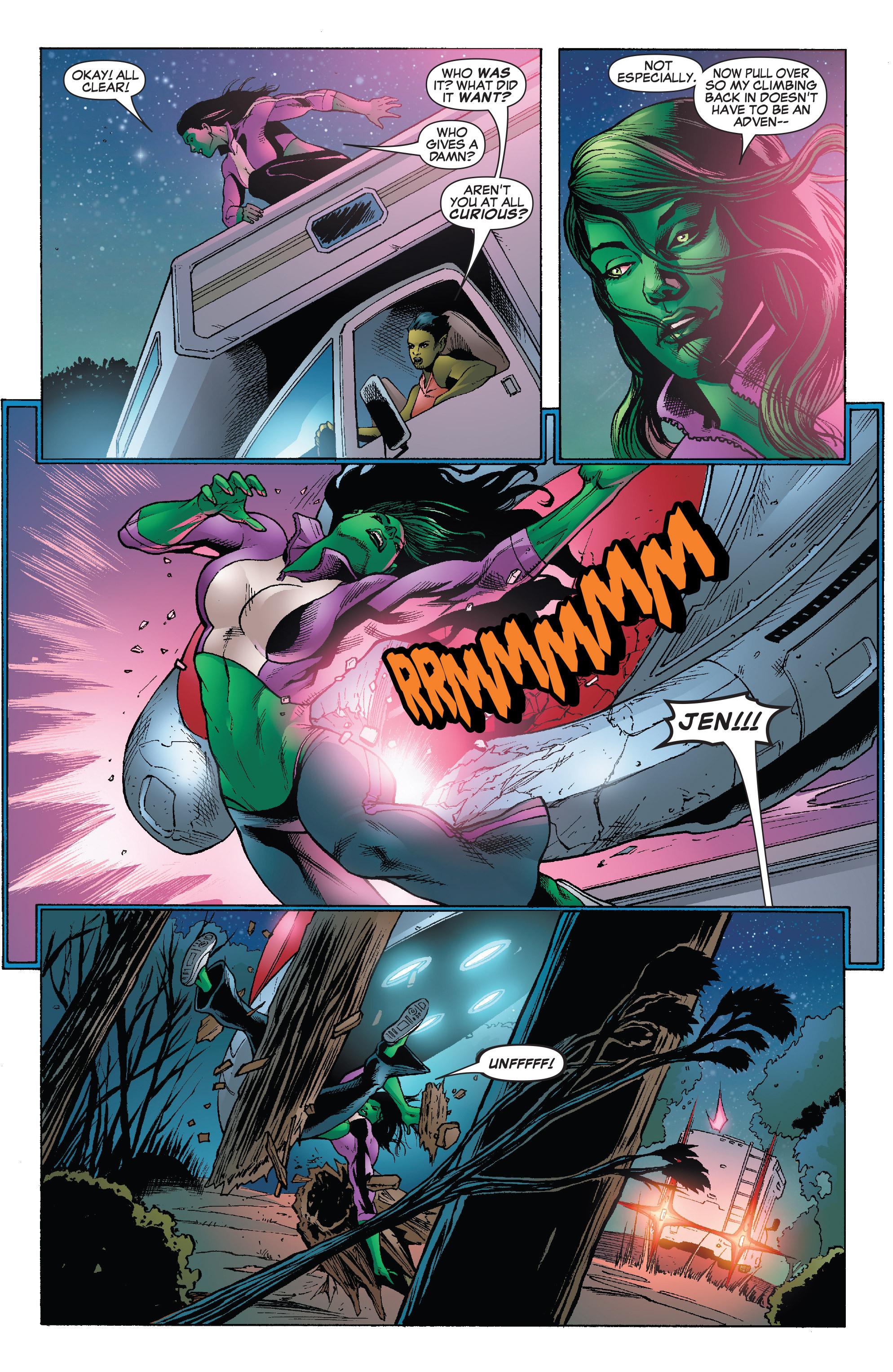 Read online She-Hulk (2005) comic -  Issue #25 - 10