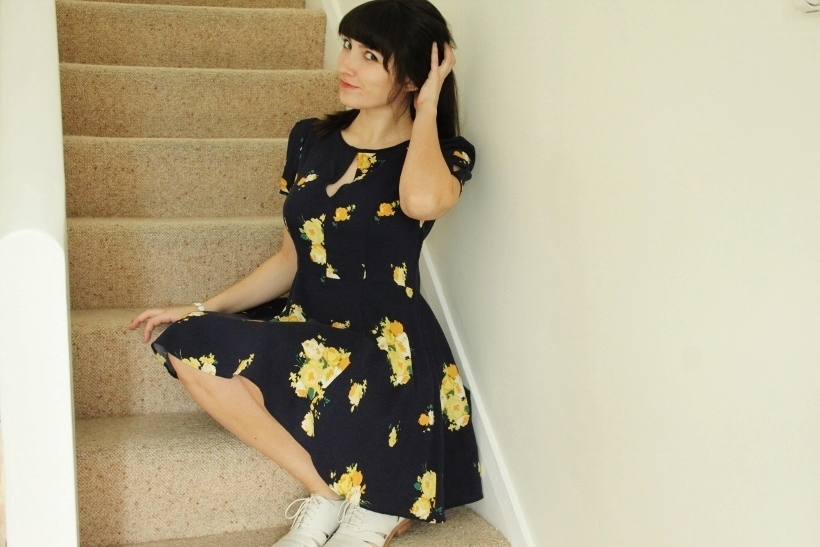 Outfit Spring Florals and Brogues