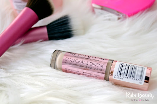 Review Makeup Revolution | Corrector Conceal & Define ¿Clon del Shape Tape de Tarte?