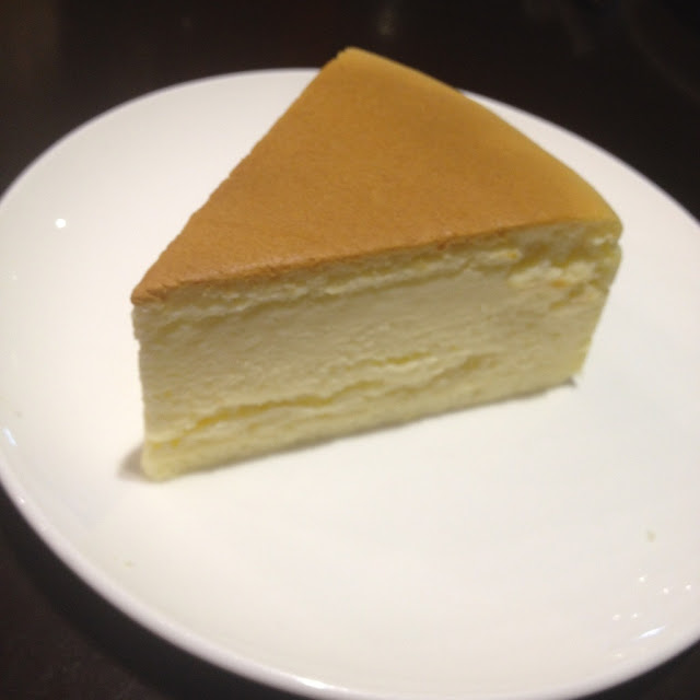 Japanese cheesecake at Fujinoya Japanese Bistro in Cebu City Philippines