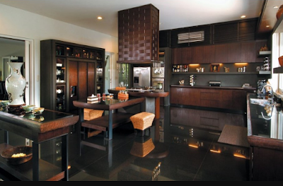 dapur elegan mewah