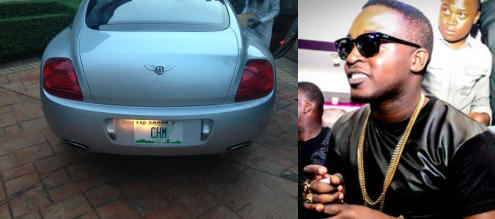 mi+abaga+bentley EXCLUSIVE PHOTOS OF ALL NIGERIAN CELEBRITIES WHO ACQUIRED NEW CARS IN 2013