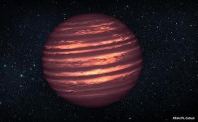 Awan Air Terdeteksi Pada Sebuah Bintang Katai Jauh