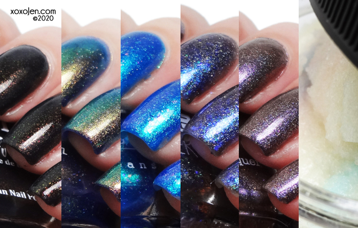 xoxoJen's swatch of Polish Pick Up: April 2020 collage