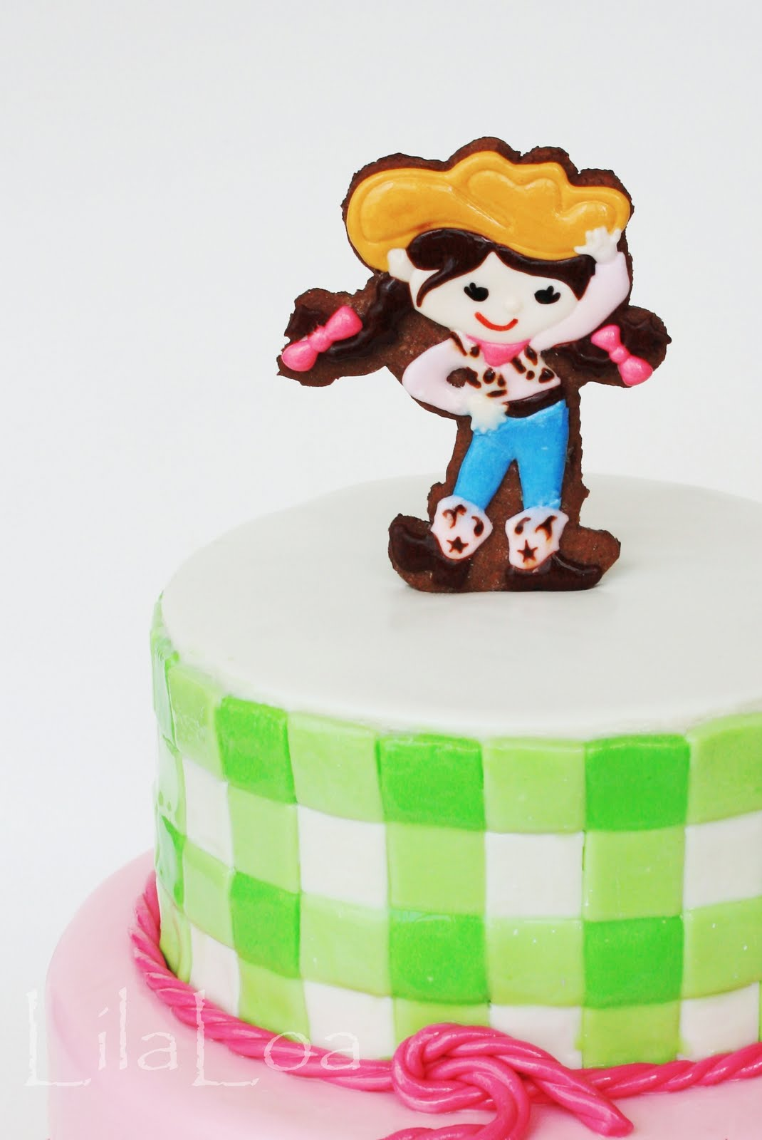 Magnificent Cowgirl Birthday Cake Personalised Birthday Cards Bromeletsinfo