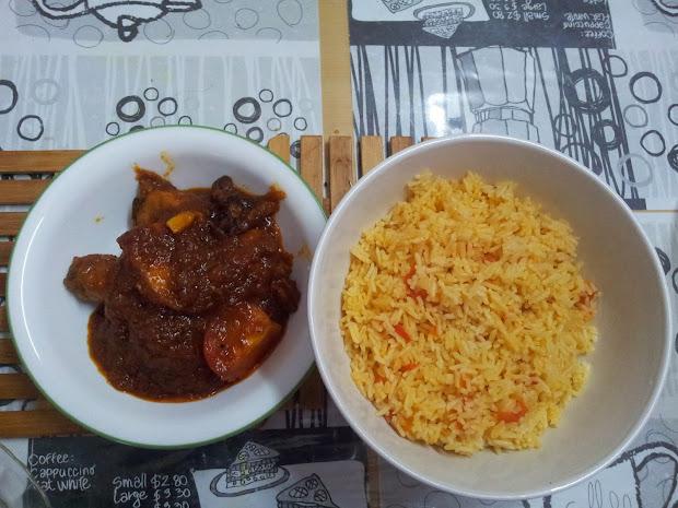 Ayam Masak Merah Dapur Bujang